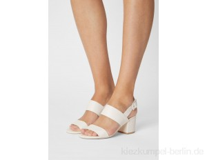 Nly by Nelly CASUAL LOW BLOCK - Sandals - white