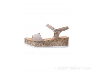s.Oliver Wedge sandals - taupe/beige