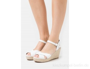 TOM TAILOR Platform sandals - white