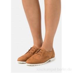 Tamaris Lace-ups - muscat/brown