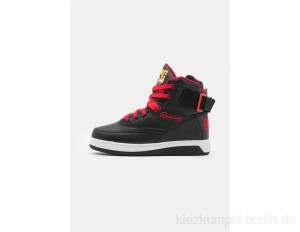Ewing High-top trainers - black/chinese red/orange pop/black
