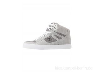 DC Shoes PURE TOP SE - Skate shoes - grey/white/light grey