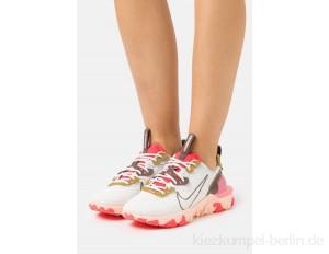 Nike Sportswear REACT VISION - Trainers - summit white/ironstone/siren red/white