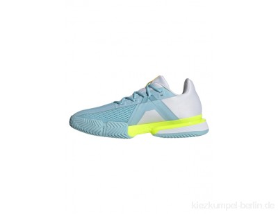 adidas Performance SOLEMATCH BOUNCE - Neutral running shoes - blue