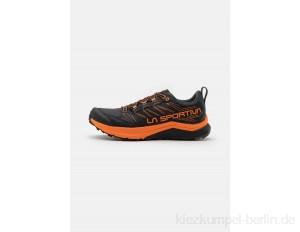 La Sportiva JACKAL - Trail running shoes - black/tiger/black