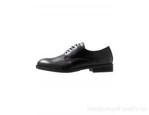 Selected Homme SLHLOUIS DERBY SHOE - Smart lace-ups - black