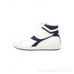 Diadora GAME - High-top trainers - white/blue/white