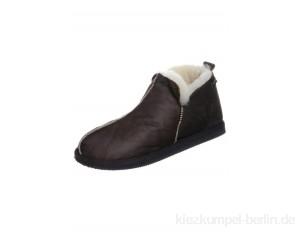 Shepherd ANTON - Slippers - oiled antique/brown