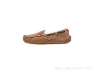 Shepherd STEFFO - Slippers - chestnut/cognac