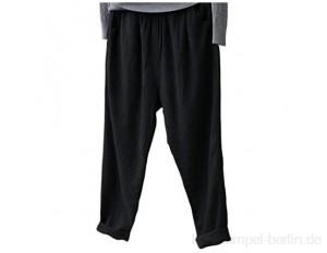 Damen Harem Hippie Hosen Hohe Taille Smocked Taille Dünn Mit Taschen Lounge Hose Für Yoga Summer Beach