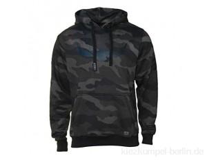ROCK-IT Apparel® Kapuzenpullover Herren Camouflage Kapuzensweater Urban Streetstyle Hoodie mit Kapuze und Fleece-Innenseite Hoody S-5XL RI1053 Dark Camo