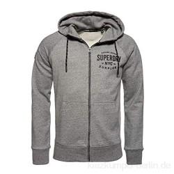 Superdry Herren Surplus Goods Ziphood Kapuzenpullover