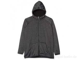 Urban Classics Herren Kapuzen-Jacke Knit Fleece Zip Hoody Sweatshirt-Jacke
