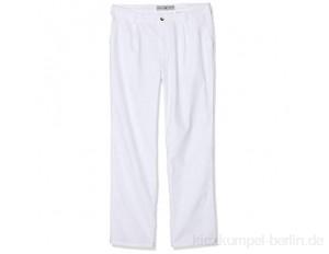 BP 1359-130-21-54s Hose für Männer, mit Bundfalten und Taschen, 205,00 g/m² Reine Baumwolle, weiß, 54s