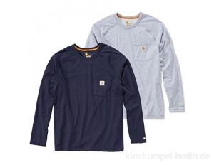 Carhartt Herren Force Cotton Delmont Langarmshirt (Regular and Big & Tall Größen) 100393