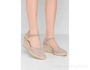 Fred de la Bretoniere Platform heels - taupe
