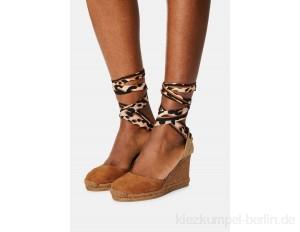 Gaimo GLOBO - High heeled sandals - ante whisky/tan