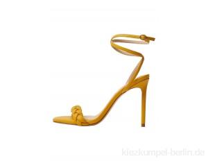 Mango TREN - High heeled sandals - moutarde/mustard yellow