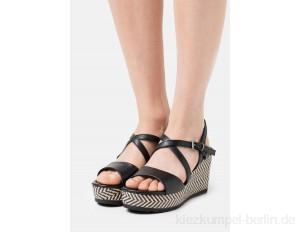 Marco Tozzi High heeled sandals - black