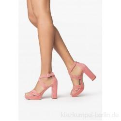 NeroGiardini High heeled sandals - aragosta/pink